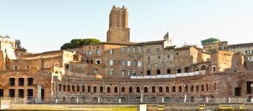 forntida rome fördärvar royaltyfri fotografi