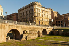 forntida rome fördärvar royaltyfria foton