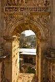 forntida rome fördärvar arkivbilder