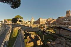forntida rome fördärvar royaltyfri foto