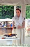 Forntida Rome kvinna Arkivfoton