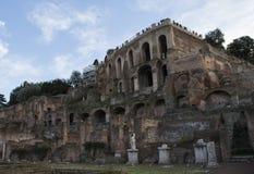 Forntida Rome rome forum Royaltyfria Bilder