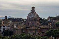 Forntida Rome rome stad Arkivfoto