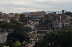 Forntida Rome rome stad Arkivbild
