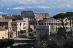 Forntida Rome rome stad Royaltyfria Foton