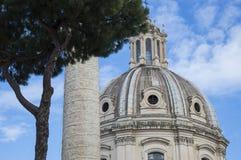 Forntida Rome rome stad Arkivfoton