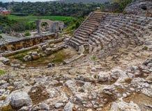 Forntida rome teater Arkivbild