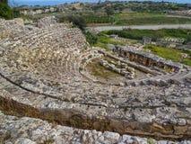 Forntida rome teater Royaltyfri Fotografi