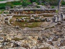 Forntida rome teater Arkivbilder