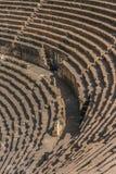 Forntida romersk amfiteater Royaltyfri Bild