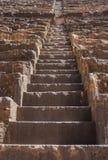 Forntida romersk amfiteater  Royaltyfri Foto