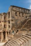 Forntida romersk amfiteater Arkivfoto