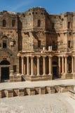 Forntida romersk citadell Arkivbilder