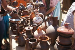 Forntida romersk kitchenware Royaltyfri Foto