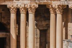 Forntida romersk kolonn Royaltyfri Foto