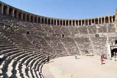 Forntida romersk Theatre Royaltyfri Fotografi