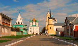 Forntida rysk stad av Kolomna Royaltyfri Fotografi
