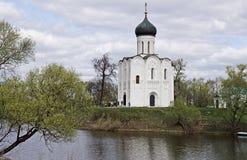 Forntida Ryssland visas i fornminnen Arkivfoto