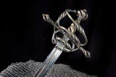 forntida sabel Royaltyfri Bild