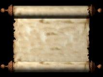 forntida scroll Royaltyfria Bilder