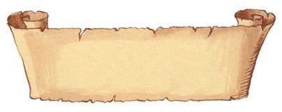 forntida scroll Royaltyfri Foto