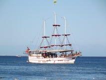 forntida seglingship Royaltyfri Foto