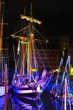 forntida seglingships Arkivbild