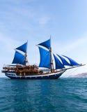 forntida ship Royaltyfri Foto