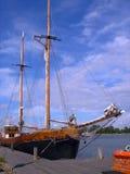 forntida ship Arkivfoto