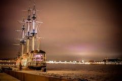 forntida ship Royaltyfri Fotografi