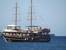 forntida ship Arkivbild
