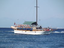 forntida ship Arkivfoton