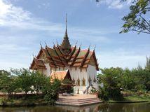 Forntida Siam på BANGKOK Fotografering för Bildbyråer