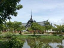 Forntida Siam på BANGKOK Arkivbilder