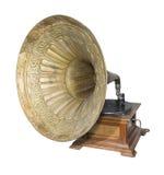 Forntida skivspelare Fotografering för Bildbyråer