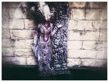forntida skulptur royaltyfria foton
