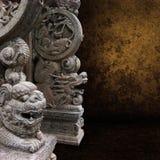 Forntida skulptur royaltyfria bilder