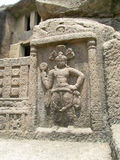 forntida skulptur arkivfoto