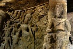 forntida skulpturer royaltyfri foto
