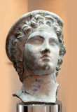 forntida skulpturterrakotta Arkivfoto