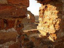 forntida slott Arkivbild