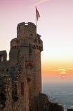 forntida slott arkivfoton