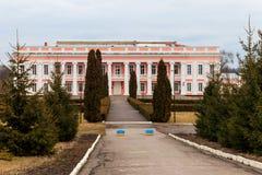 Forntida slott av de polska magnaterna Potocki i Tulchin, Ukraina Royaltyfri Fotografi