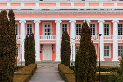Forntida slott av de polska magnaterna Potocki i Tulchin, Ukraina Royaltyfri Bild