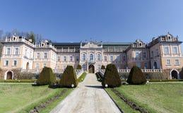forntida slott Europa royaltyfri foto