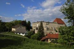 Forntida slott i Bayern Royaltyfria Foton