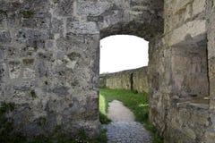 Forntida slott i Bayern i Tyskland Arkivfoton