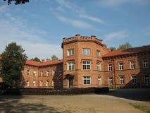 Forntida slott i Litauen arkivbild