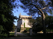 forntida slott rome Royaltyfri Fotografi