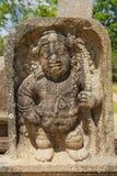 Forntida snida i Anuradhapura, Sri Lanka Arkivbild